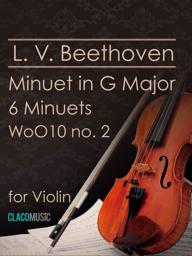 Beethoven Minuet in G Major