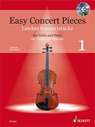 Easy Concert Pieces Vol. 1 for Violin & Piano